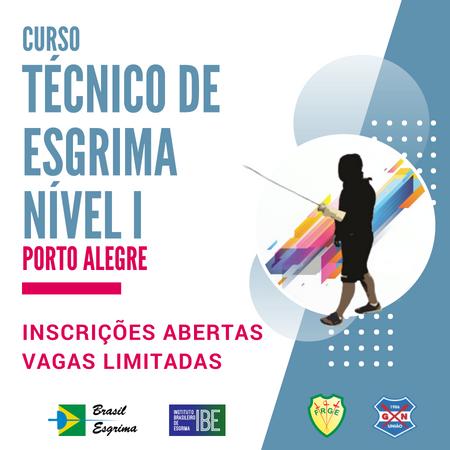 Técnico de Esgrima Nível I – Porto Alegre