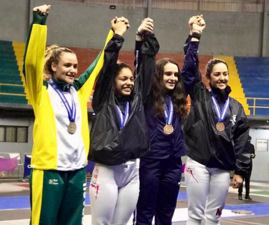 Luana Pekelman é prata no Pan-americano Cadete e Juvenil