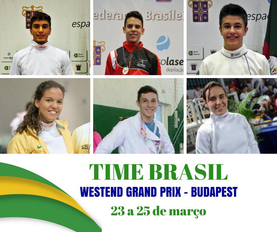 Brasileiros no Westend Grand Prix em Budapest