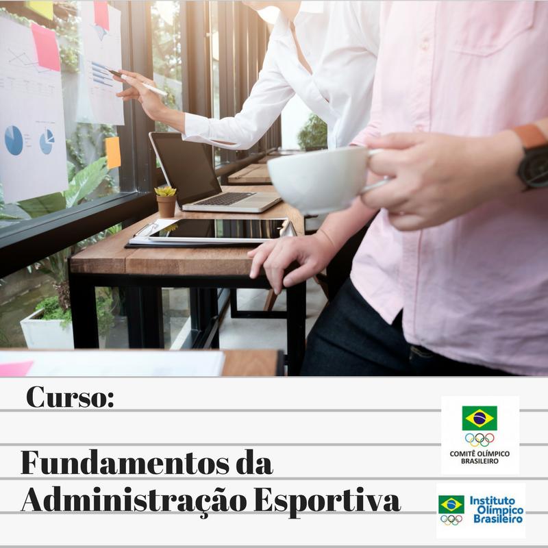 COB abre vagas para curso Fundamentos da Administração Esportiva