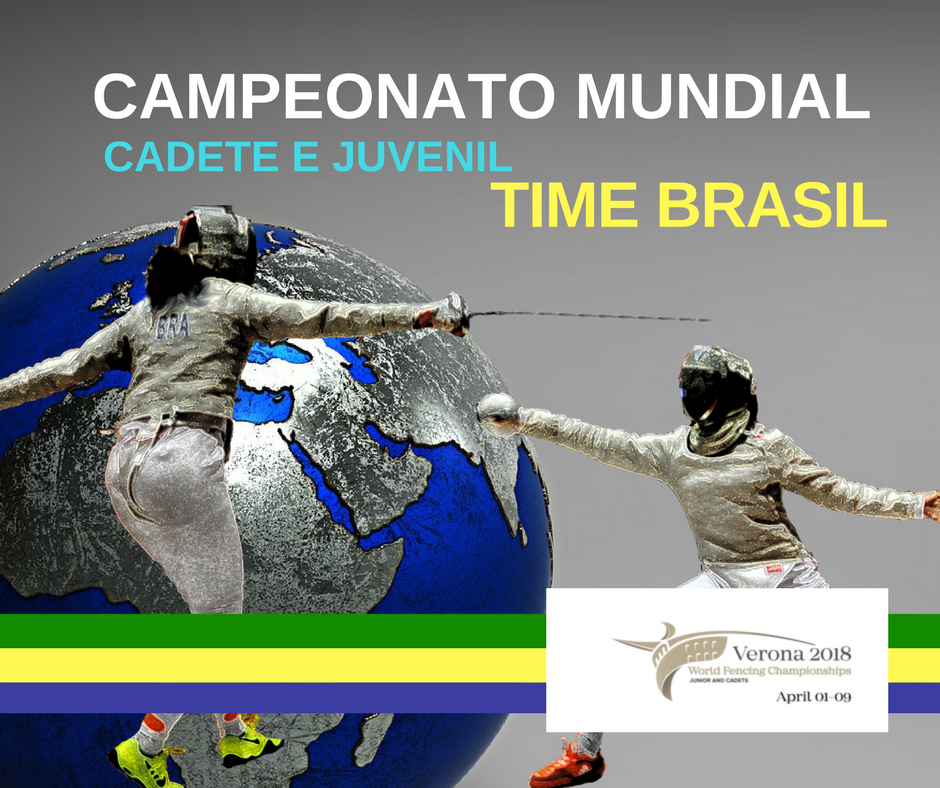 Time Brasil no Campeonato Mundial cadete e juvenil.