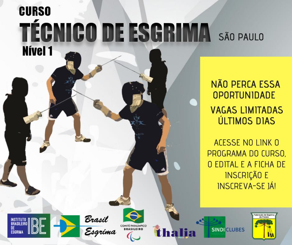 Curso de Técnico Nivel I em São Paulo
