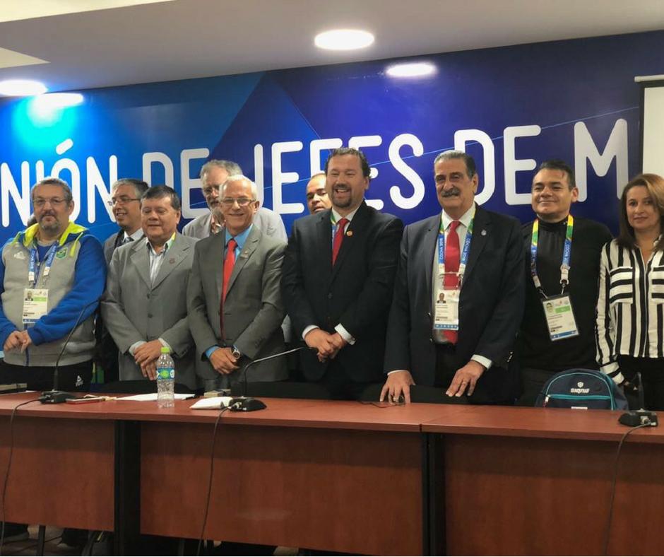 Confederação Sul-americana de Esgrima tem novo Presidente.