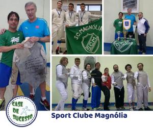 Sport Clube Magnólia é o lugar da Esgrima em Petrópolis, RJ