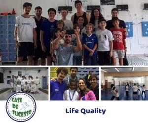 A Life Quality é mais um case de sucesso na esgrima brasileira