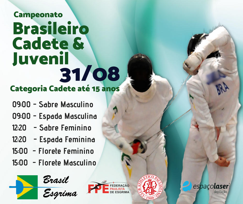 Pules do Campeonato Brasileiro Cadete e Juvenil