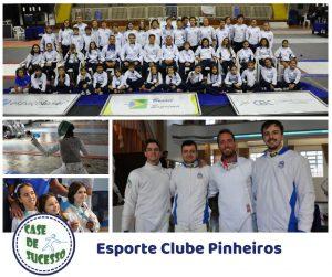 Esgrima Pinheirense, celeiro de campeões