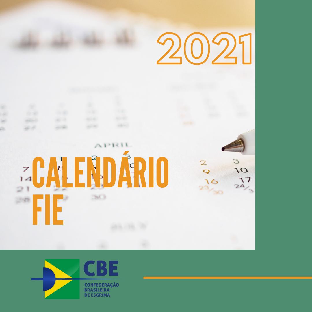 Federação Internacional de Esgrima divulga primeiros eventos do calendário de competições para 2021