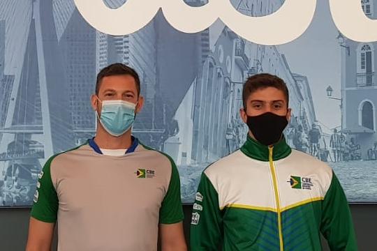 Ivan Schwantes e Alexandre Camargo completam equipe masculina de espada na Missão Europa