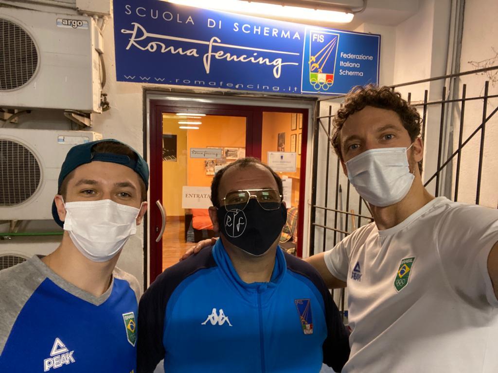 Athos Schwantes e Fabrizio Lazaroto encerram treinos em Rio Maior e já estão treinando na Itália