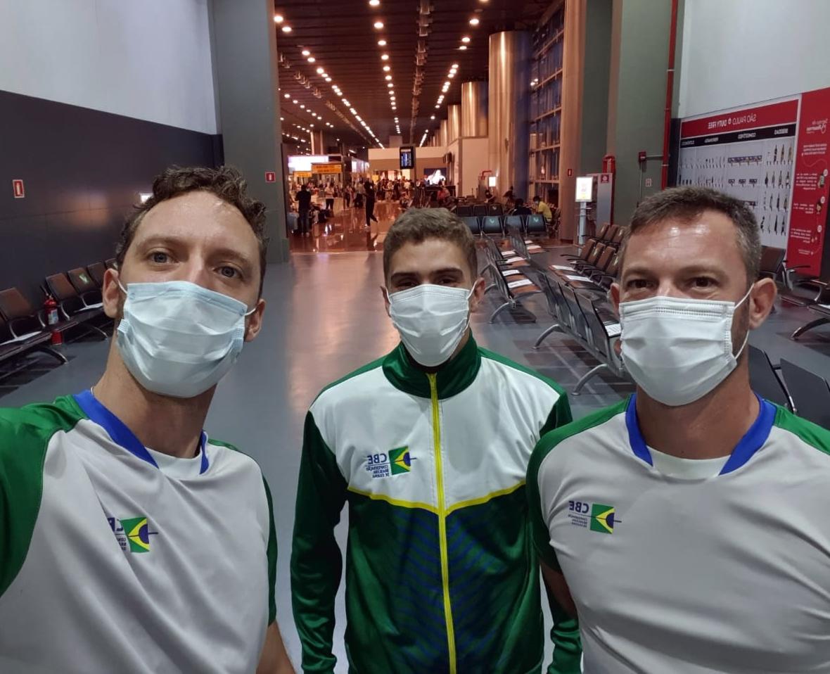 Athos Schwantes volta a Europa para reforçar preparação em busca da vaga olímpica