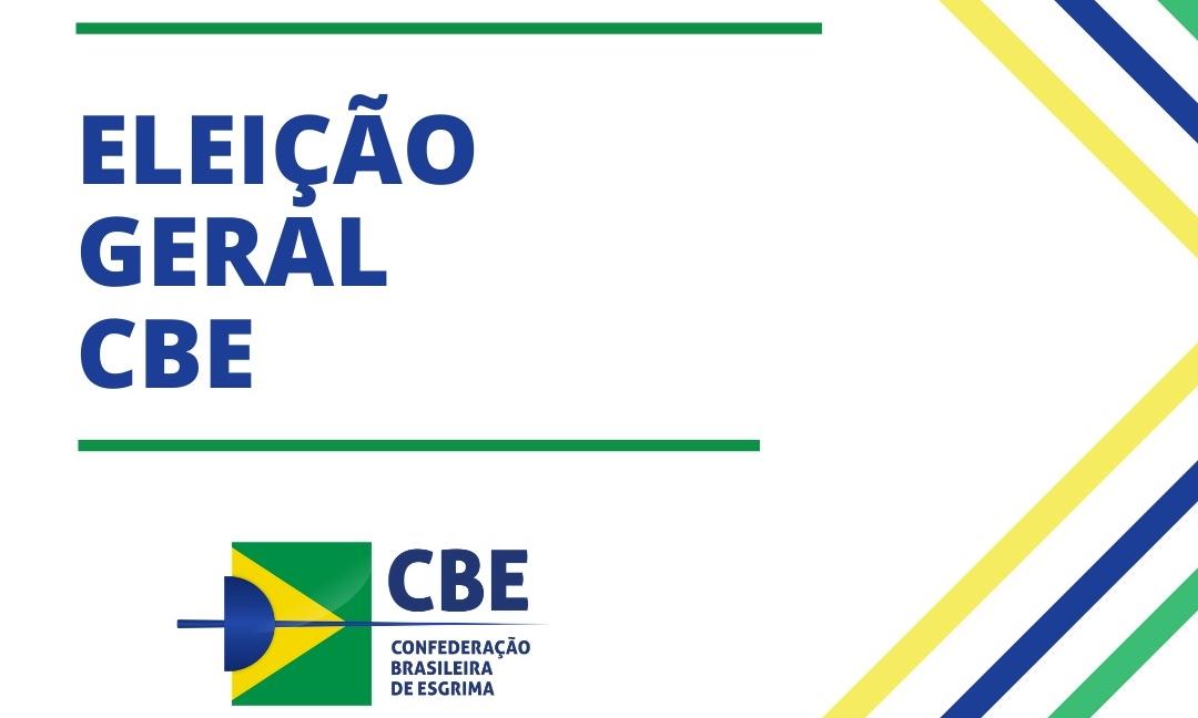 Eleição da CBE começa nesta quarta-feira, com participação de atletas e clubes pela primeira vez na história