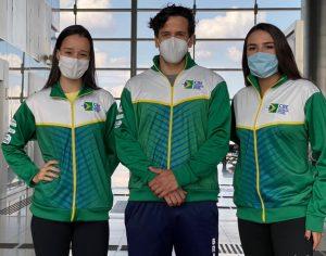 Equipe brasileira chega a Kazan para a disputa da Copa do Mundo de