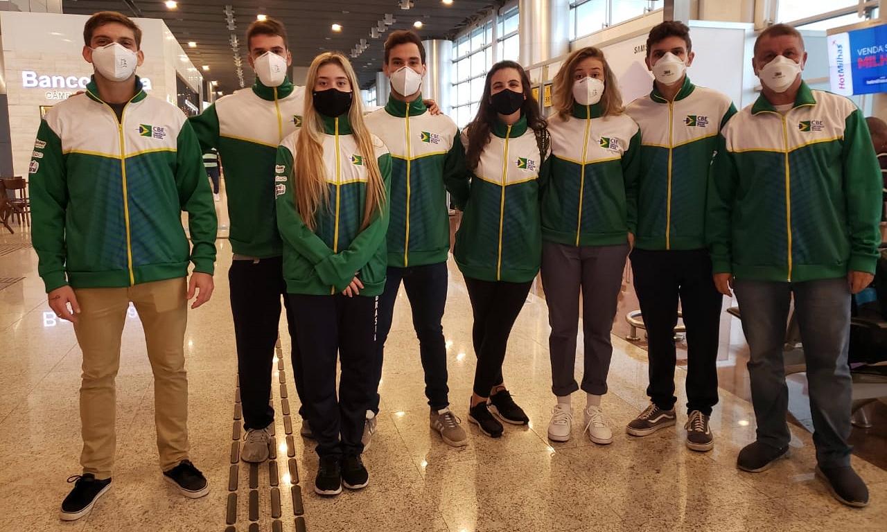 Equipe brasileira de sabre segue para a disputa da Copa do Mundo em Budapeste
