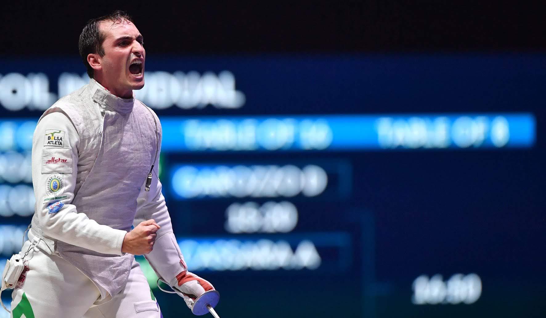 Guilherme Toldo tem bom desempenho no Grand Prix de Florete e garante a vaga na Olimpíada