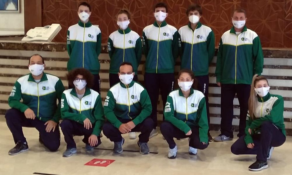 Equipe de sabre estreia neste sábado no Mundial Cadete e Juvenil de Esgrima
