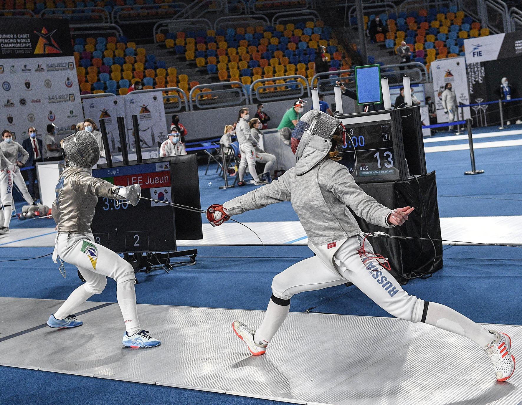 Meninas do Brasil chegam nas oitavas do Mundial Cadete e Juvenil e conquistam melhor posição da história do sabre feminino