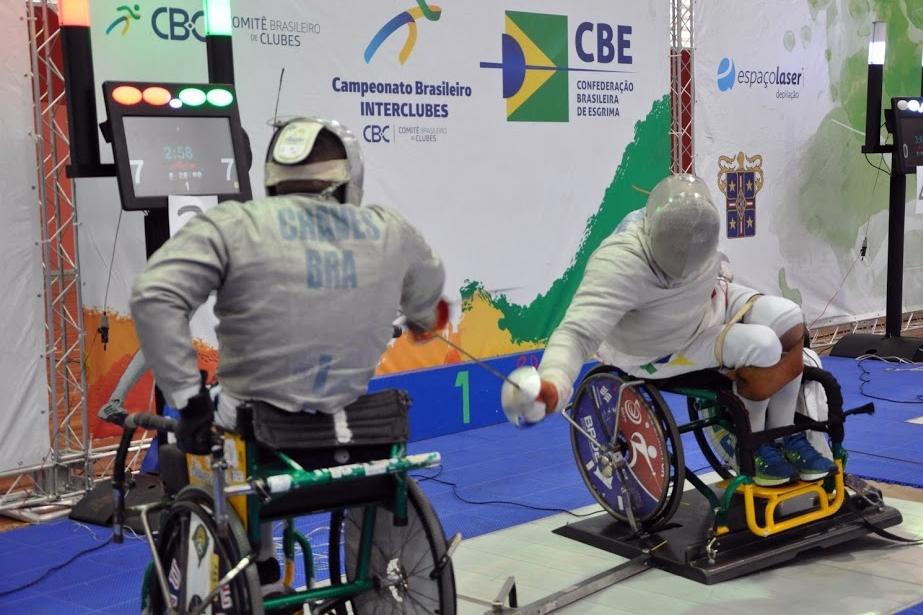 Obras da nova sala de esgrima do CPB avançam e foco será aumentar o número de praticantes da modalidade paralímpica