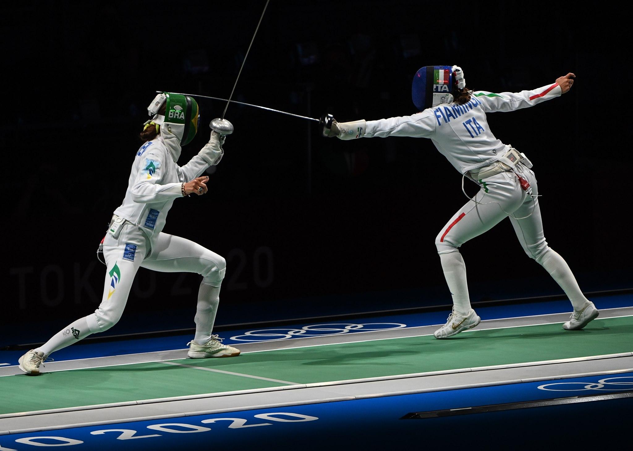Nathalie Moellhausen cai para a vice-campeã olímpica e se despede dos Jogos de Tóquio
