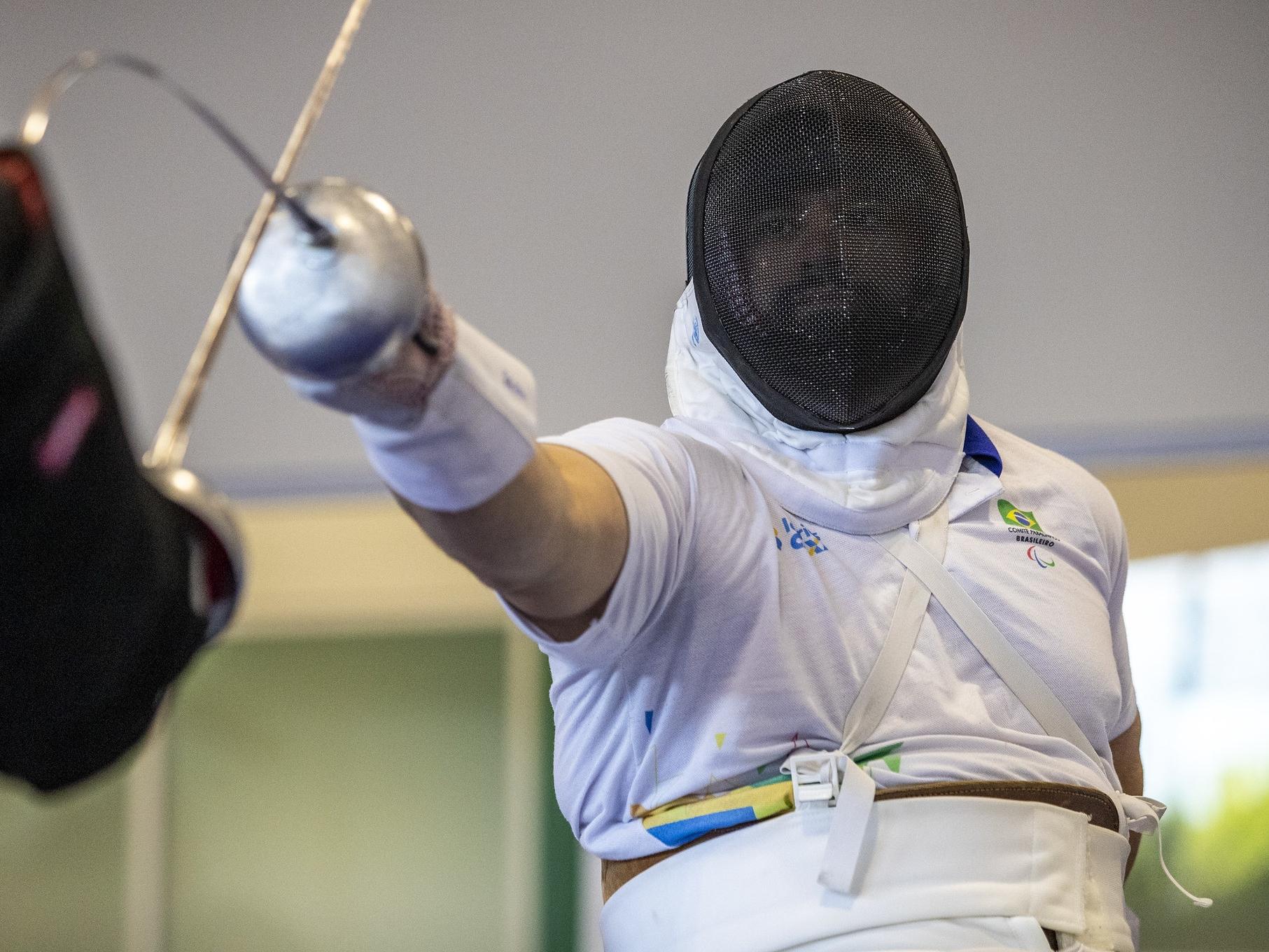 Em reta final de treinos no CT Paralímpico, Jovane Guissone faz últimos ajustes para Tóquio 2020