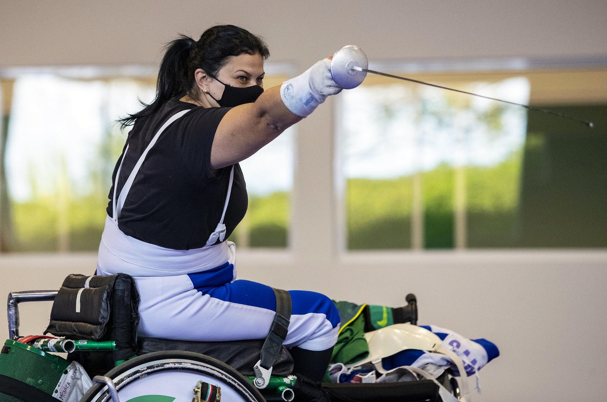 Focada em surpreender, Mônica Santos ajusta últimos detalhes em treinos da Seleção no CT Paralímpico antes da viagem para o Japão