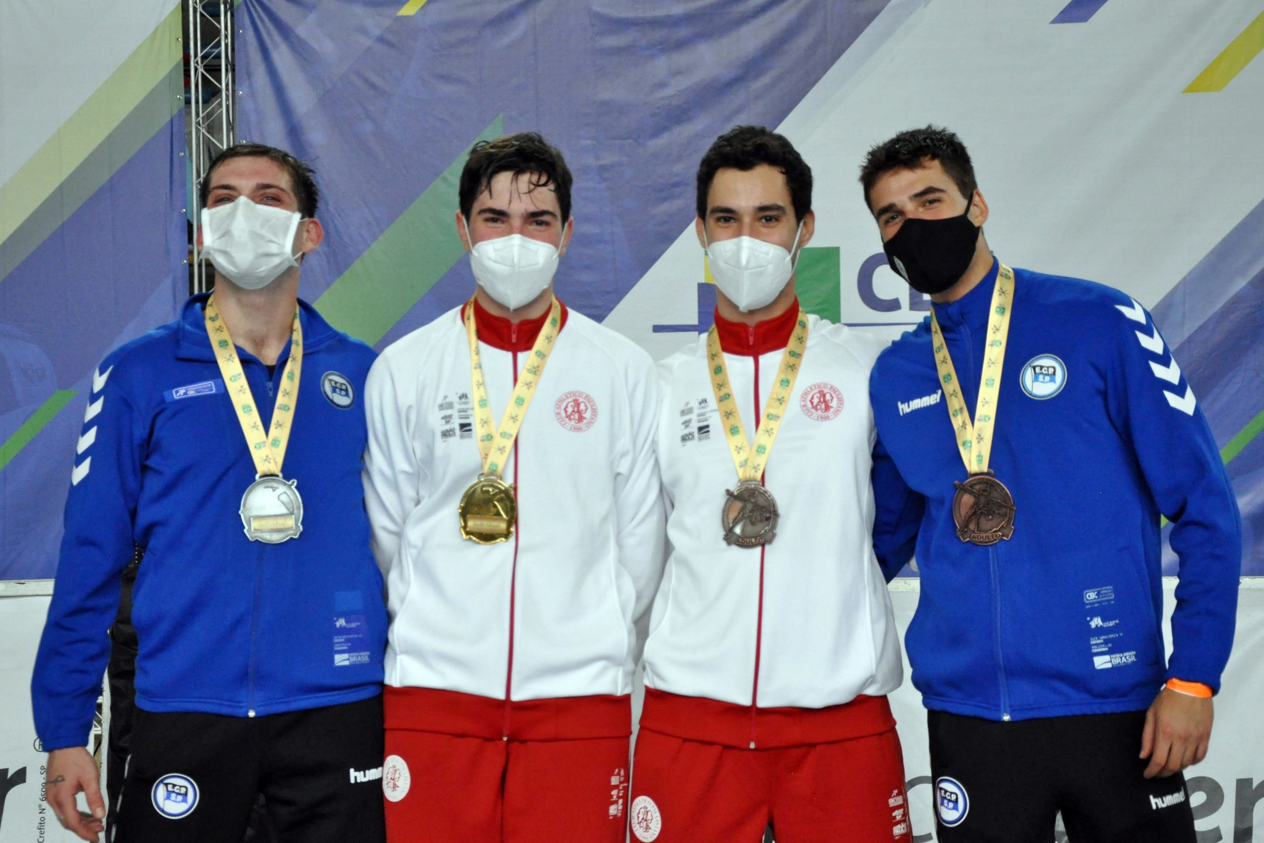 Atual campeão brasileiro sub-20 de sabre masculino, Murilo Garrigós conquista o Campeonato Brasileiro Adulto