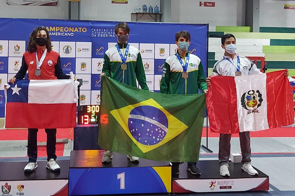 Lorenzo Mion repete a dose e conquista o segundo título sul-americano, desta vez no juvenil